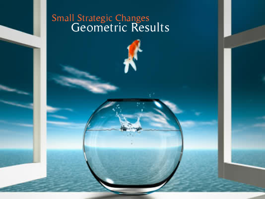 Small Strategic Changes - Geometric Results